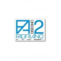 ALBUM DA DISEGNO F2 FABRIANO FORMATO 24x33 LISCIO