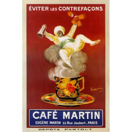 REPLICA TARGA VINTAGE CAFE' MARTIN