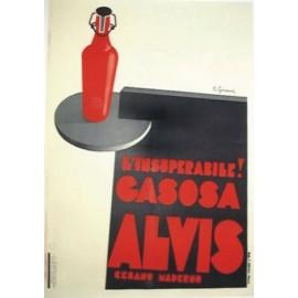 REPLICA TARGA VINTAGE GASSOSA ALVIS